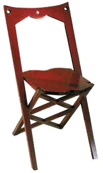 Sudaluck folding chair Rosewood inquire for price and availability